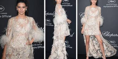 Kendall Jenner - Als gerupftes Huhn in Cannes