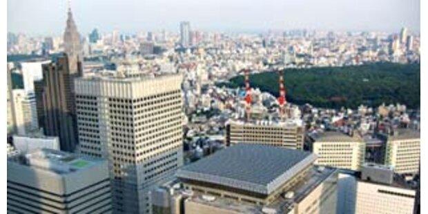 Erdbeben erschütterte Tokio