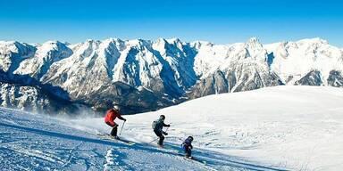 Skigebiet mit neuem Plan