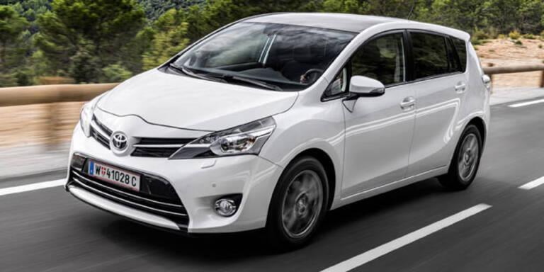 Toyota macht den Verso jetzt billiger