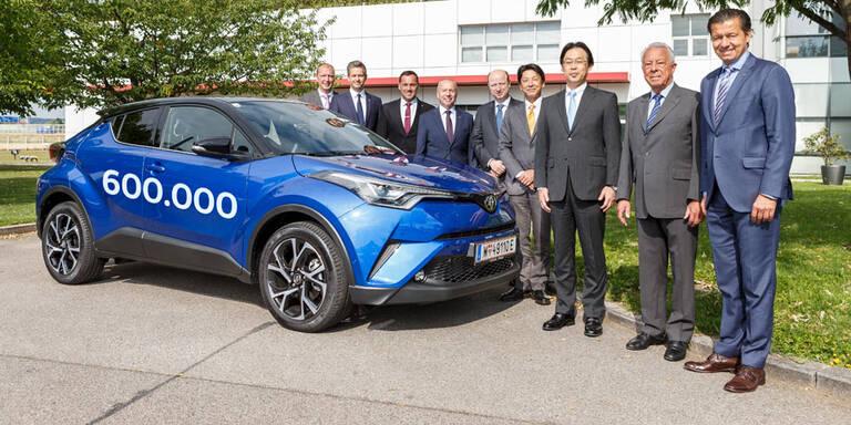 600.000 Toyota-Fahrzeuge in Österreich