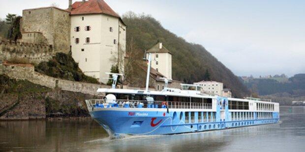 Mit dem Dampfer über Donau & Co. kreuzen