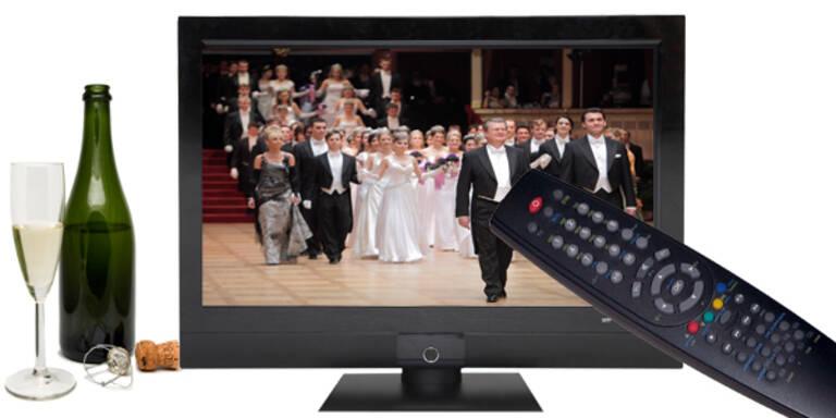TV-Plan Wiener Opernball