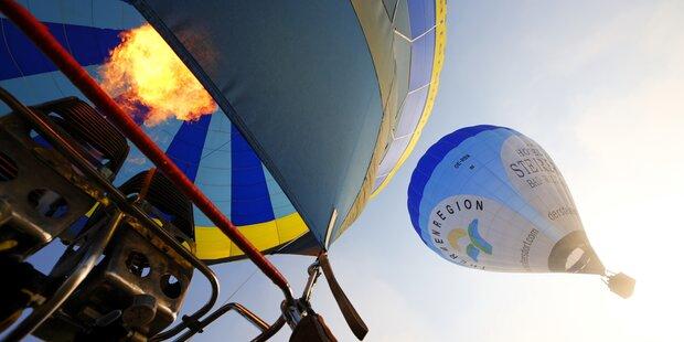 Fahrerflucht mit Ballon