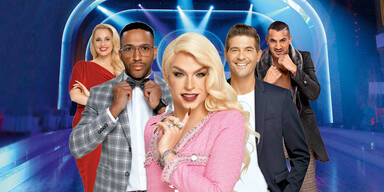 Dancing Stars 2020 Tamara MAscara Silvia Schneider marcos Nader Norbert Oberhauser cesar Sampson