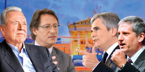 Votings zu den ORF-Duellen