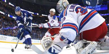 Tampa legt gegen Rangers vor