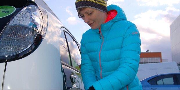 Mit dem Elektroauto durch den Winter