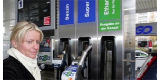 Benzin- und Dieselverbrauch gesunken