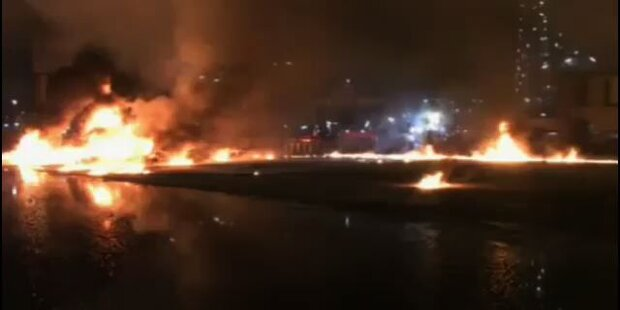 Tankerschiff in Deutschland explodiert und gesunken