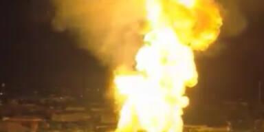 """Ohio: """"Chemikalien-Zug"""" entgleist und explodiert"""