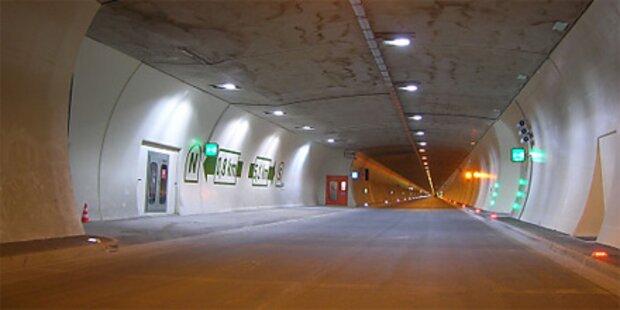 Tauerntunnel für Einsatzübung gesperrt
