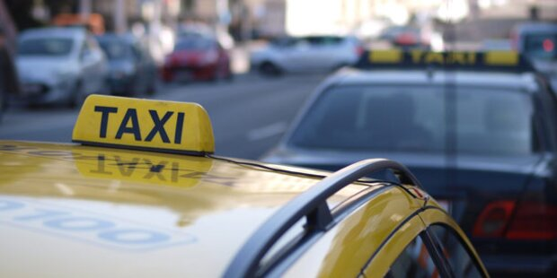 Polizei-Verfolgungsjagd per Taxi