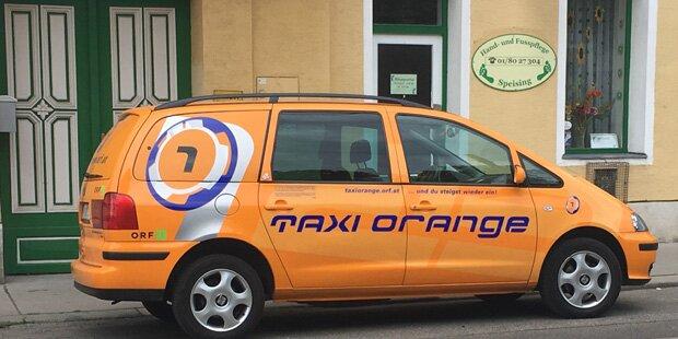 Taxi Orange gesichtet