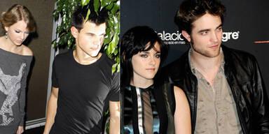 Taylor Swift & Taylor Lautner, Kristen Stewart & Robert Pattinson