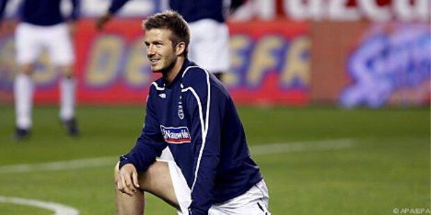 Beckham an der Achillessehne operiert