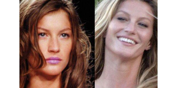 Wie dringend brauchen Stars ihr Makeup?