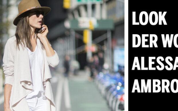 Look der Woche - Alessandra Ambrosio