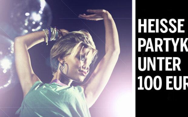 Heiße Partykleider unter 100 Euro