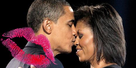 Teaser Barack Michelle Obama Kussarten