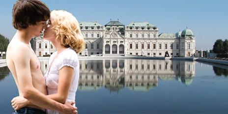 Teaser Küssen AIDS Kiss@Belvedere Wien
