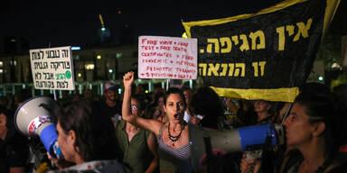 Israel: Wütende Proteste gegen neue Corona-Maßnahmen