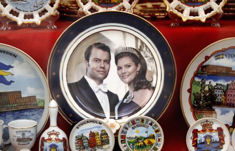 Teller Victoria Schweden Hochzeit Daniel Westling