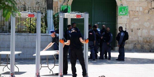 Jerusalemer Altstadt für Männer unter 50 gesperrt