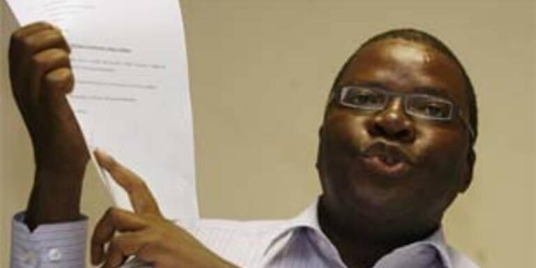 Oppositions-Generalsekretär Tendai Biti