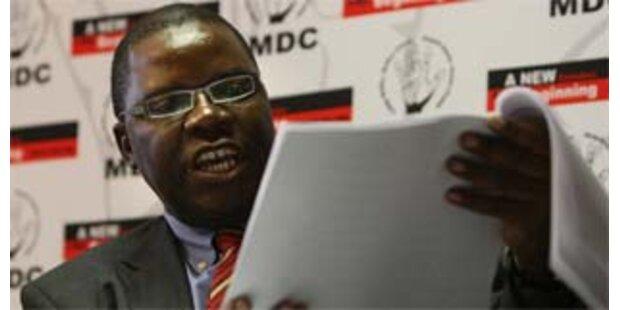 Simbabwes Opposition verweigert zweite Wahlrunde
