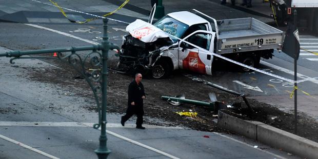 Anschlag in New York US-Präsident Trump fordert Todesstrafe für Attentäter