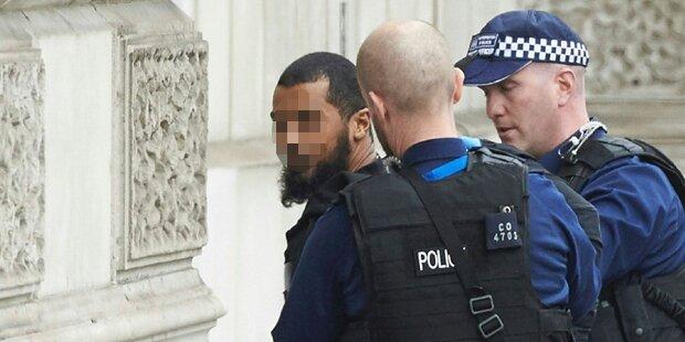 Terror-Alarm in London: Polizei stoppt Messer-Mann