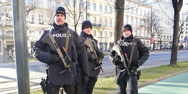 Erhöhte Terror-Warnstufe in Österreich