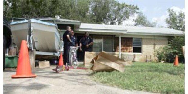 Texanerin setzte ihre drei kleinen Töchter in Brand