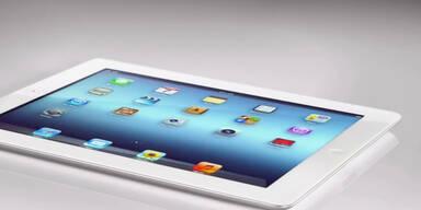 Die Präsentation des neuen iPad
