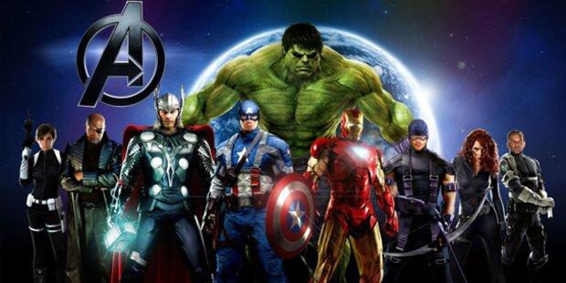 The Avengers: Superhelden retten Welt