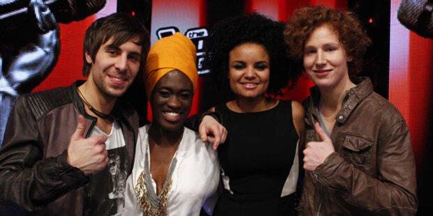 The Voice: Die Finalisten stehen fest