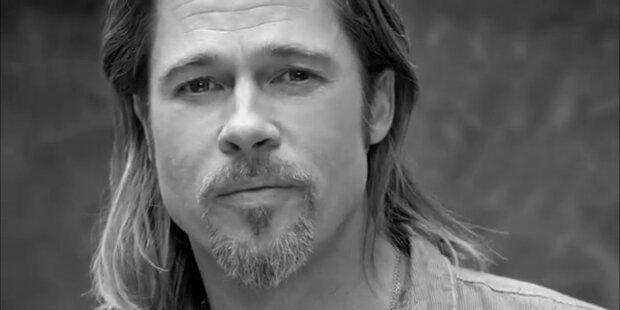 Premiere: Brad Pitt wirbt für Damenduft