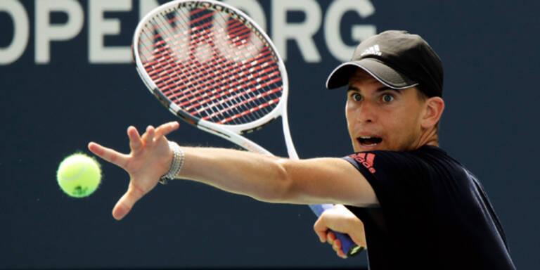 US-Open: Thiem zieht nach Krimi in 3. Runde ein