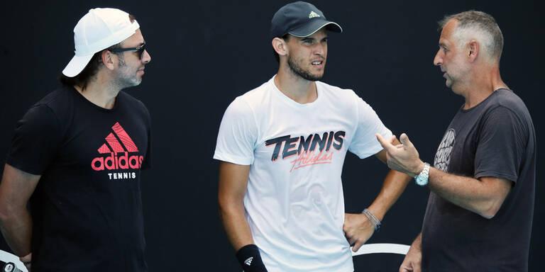 Dominic Thiem startet in die Australian Open