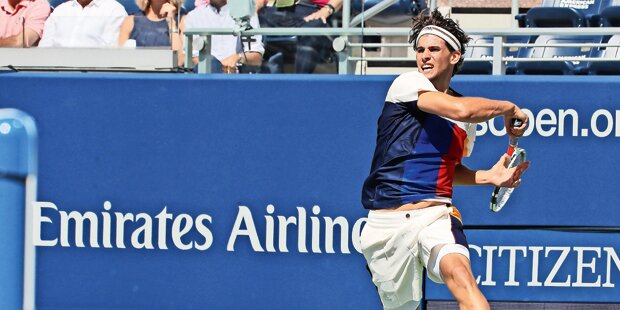 US Open: Thiem stürmt ins Achtelfinale