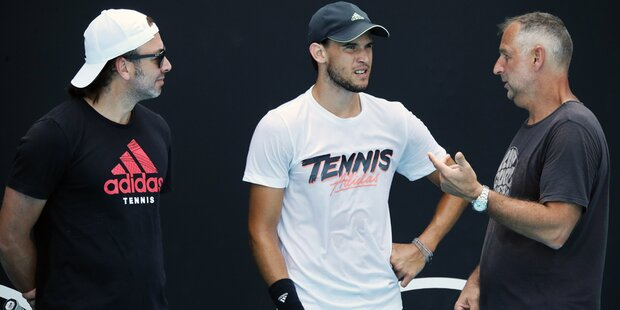Thiem startet in die Australian Open