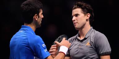 Djokovic adelt Thiem für die Top 3