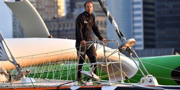 Segler bricht Rekord für Atlantik-Einzelüberquerung