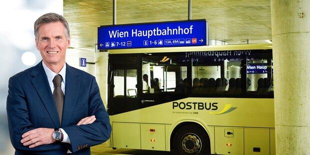 Neuer Chef für ÖBB-Postbus