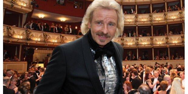 Gottschalk für ATV auf Wiener Opernball
