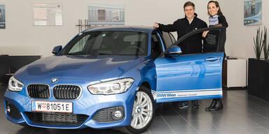 BMW Wien sponsert heimischen Rennfahrer