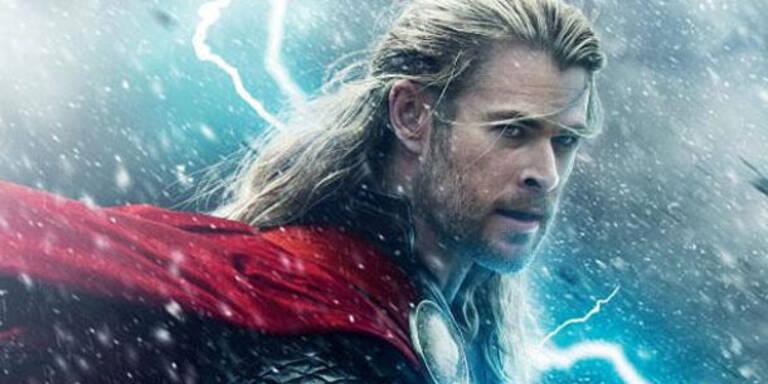 Chris Hemsworth rettet als Thor die Welt