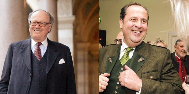 Ermittlungen gegen Pröll und Graf Ali