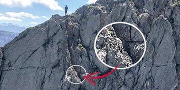 Besitzer muss jetzt 2.500 Euro zahlen: Hund mit Heli von Berg gerettet